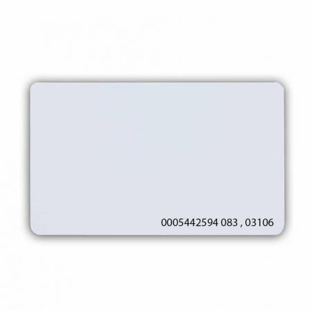 Безконтактна картка з чіпом Em-Marine з номером