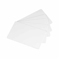 White blank PVC card, CR80